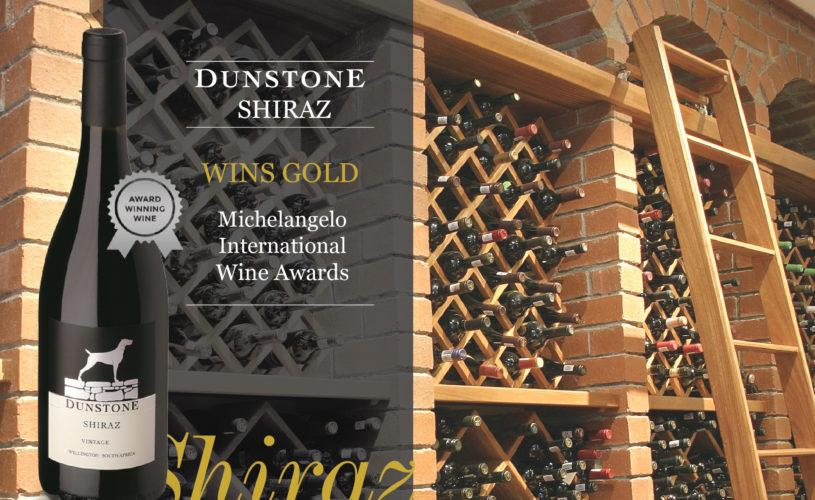 Dunstone Shiraz Wins Gold